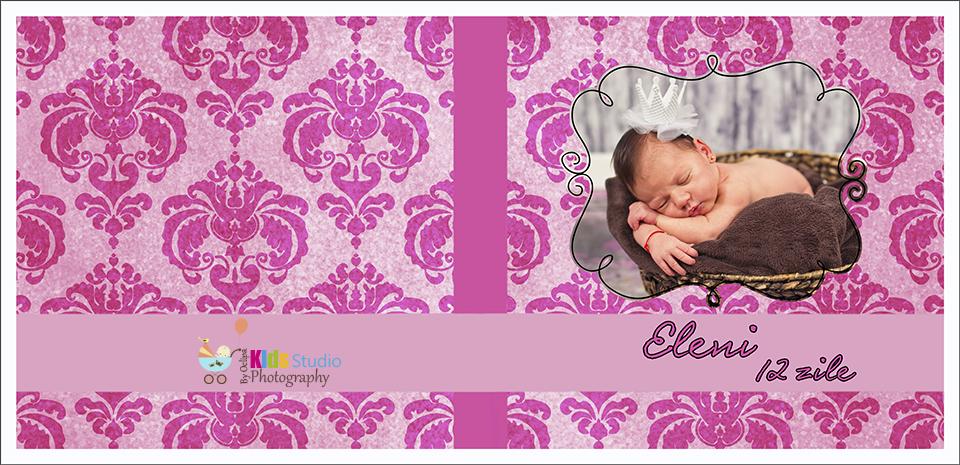 Coperta album nou nascuti Eleni